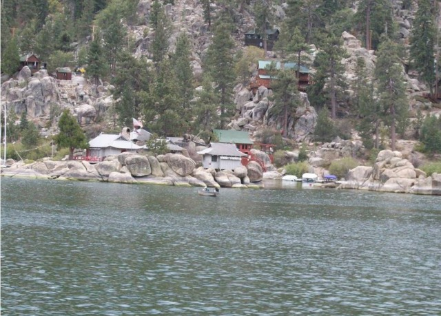 Fishing on Big Bear Lake