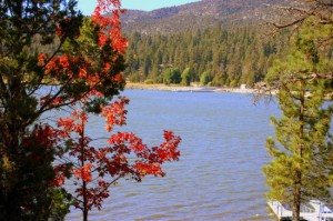 Big Bear Lake in Autumn