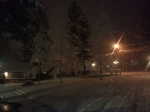 Snow in Big Bear
