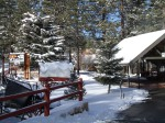 Snow in Big Bear Lake