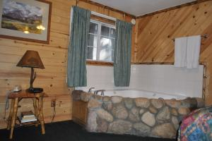 Hot Tub in Big Bear Frontier cabin