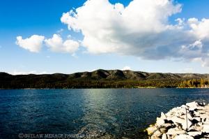 Fishing in Big Bear Lake California
