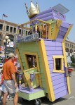 Outhouse race during the chili festival? Seems appropriate.