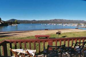 Big Bear Lake view - Sunny Weather