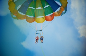 Parasailing - Big Bear Lake