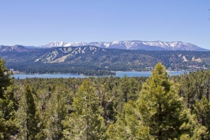 Amazing Mountain view at Big Bear Lake, California