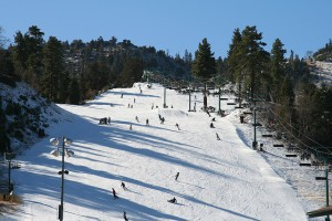 Bear Mountain ski run