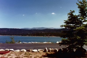 Big Bear Lake View - Sun - Summer time