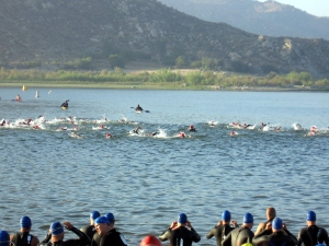 High endurance is a big part of the Big Bear Triathlon. Train appropriately.
