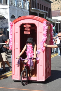 Outhouse race bike