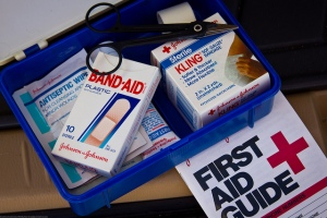 First Aid Kit and Guide