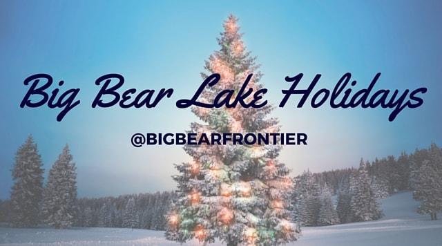 Big Bear Christmas.Big Bear Lake Christmas 1 Min Big Bear Frontier Vacation