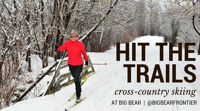 cross country skiing big bear