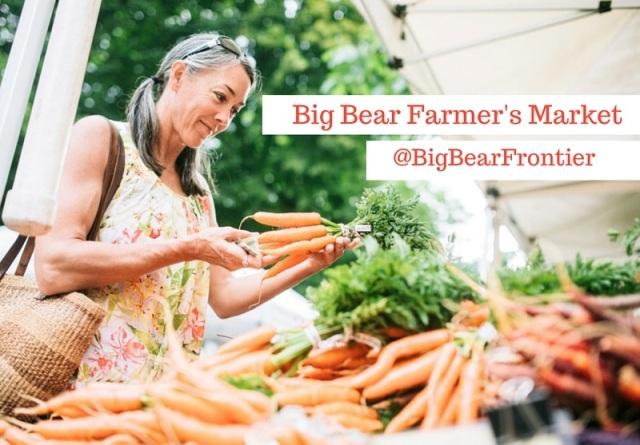 farmer's market at Big Bear