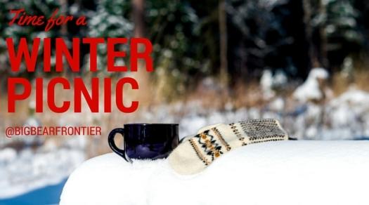 winter picnic at Big Bear