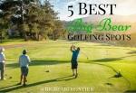golfing at Big Bear