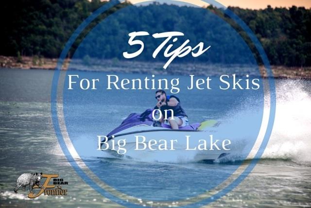 jet skis at big bear lake