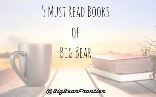 5 books of Big Bear
