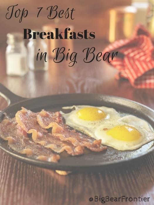 breakfasts in Big Bear