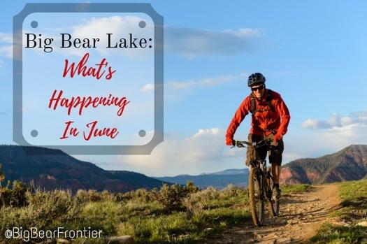 Big Bear biking trail