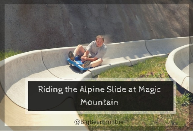 alpine slide at big bear