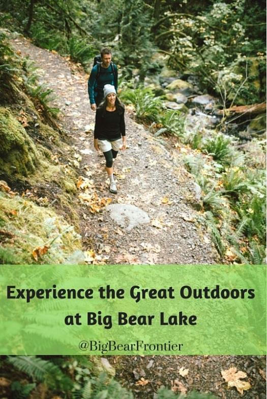 great outdoors at Big Bear Lake