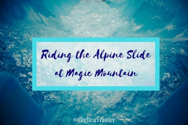 alpine slide at big bear