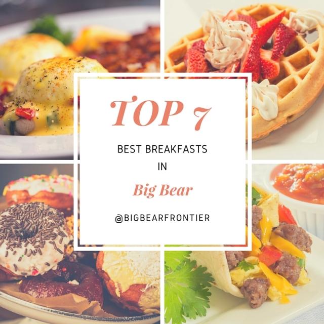 breakfasts of Big Bear