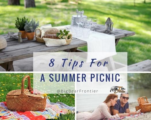 big bear summer picnic image