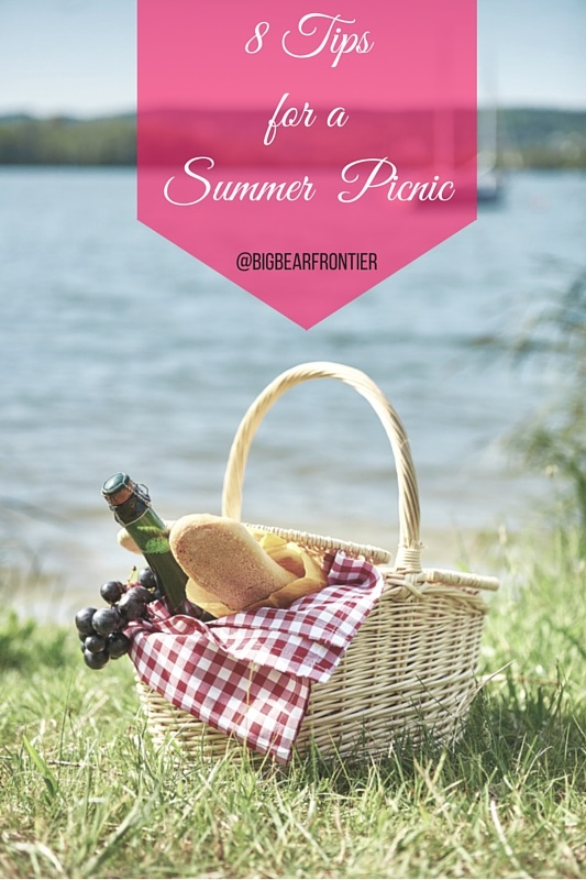 big bear summer picnic basket