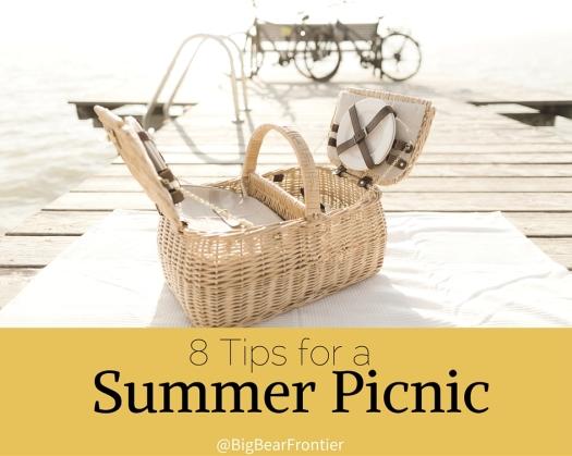 big bear summer picnic basket