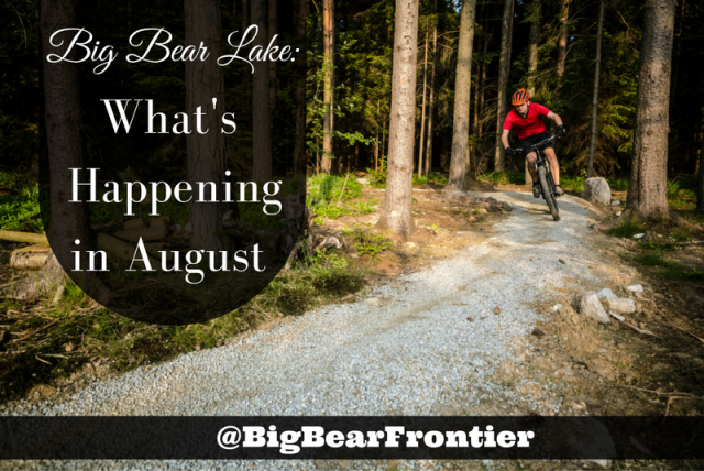 Big Bear Lake cycling image