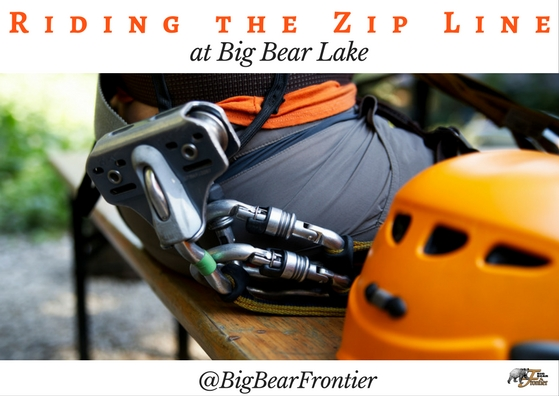 Big Bear Lake zip lining equipmen