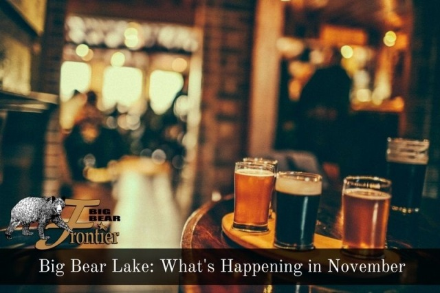 big bear lake activities November image