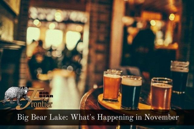 big bear lake activities November image