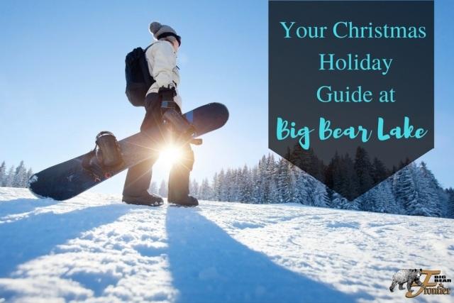 snowboarding at Big Bear
