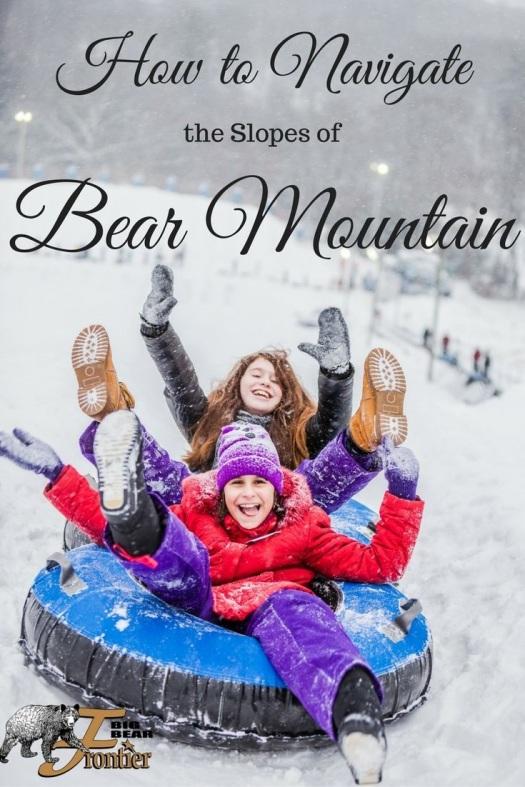 bear mountain skiing California