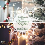 Best Christmas lights Big Bear Lake