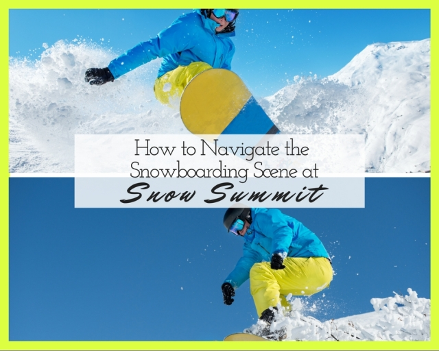 snowboarding Snow Summit