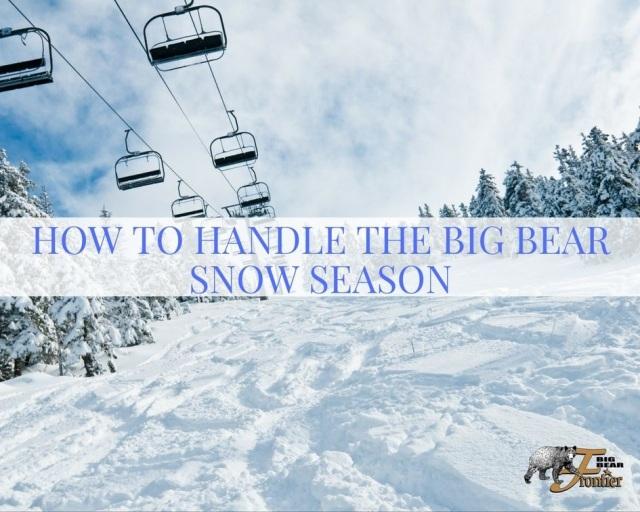 Big Bear ski slopes