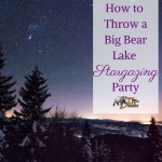 big bear lake stargazing party