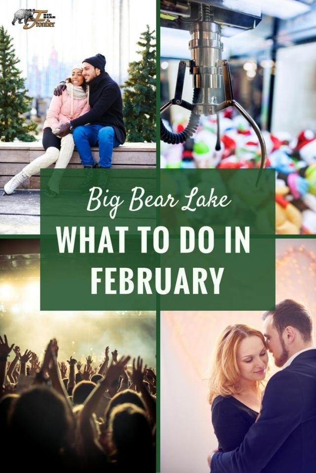 big bear lake what to do february