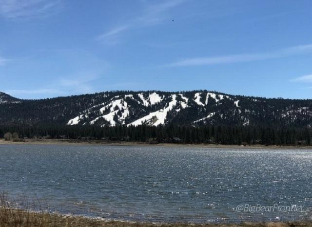 driving to big bear lake