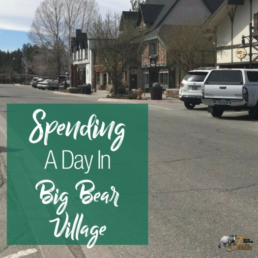 big bear lake village